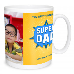 Superdad Photo Mug
