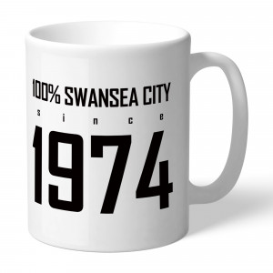 Swansea City AFC 100 Percent Mug