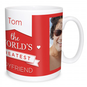 The Worlds Greatest Boyfriend Photo Mug